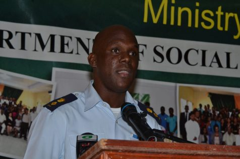 Director-General (ag) of the Civil Defence Commission (CDC), Lieutenant Colonel Kester Craig