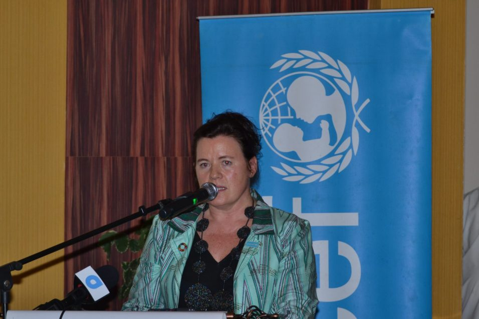 United Nations Children's Fund (UNICEF) Country Representative to Guyana and Suriname, Sylvie Fouet