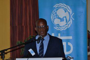 Dean of the Faculty of Health Sciences, University of Guyana, Dr. Emmanuel Cummings