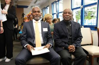 The Foreign Minister and Ambassador of Nigeria to Germany, His Excellency Yusuf Maitama Tuggar.