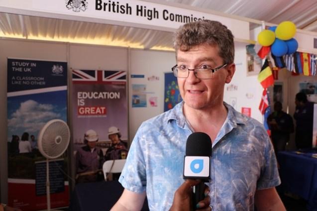 British High Commissioner, Greg Quinn.