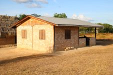 One of the newly constructed houses in Region Nine