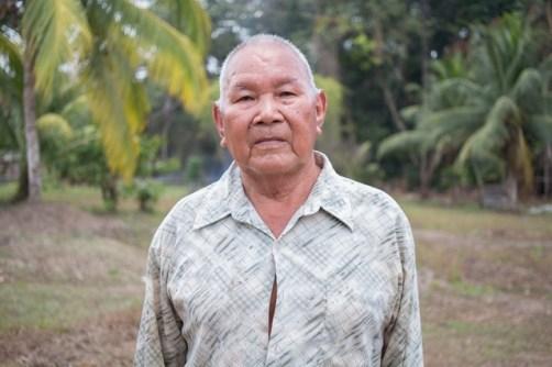 A resident of Barabina Hill, Mabaruma, Phillip Chu.