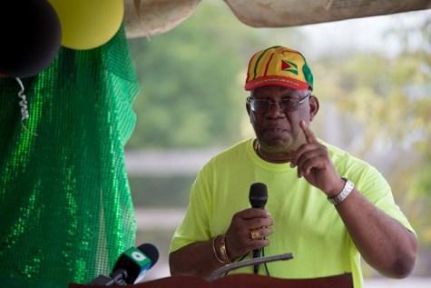 Minister of Finance, Winston Jordan.