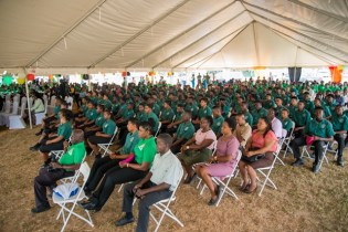 Young people of the National Youth Corps.