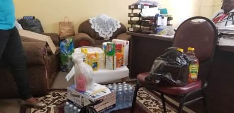 Some of the food items and other supplies handed over by the Region 5 Education Department.