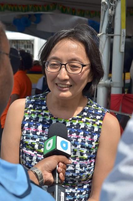 Mikiko Tanaka, United Nations Resident Coordinator.