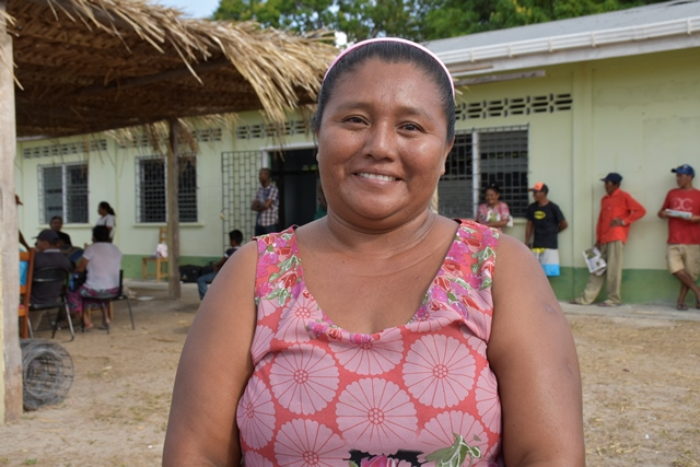 Patarinau Women's Group member, Mary Fernandes.
