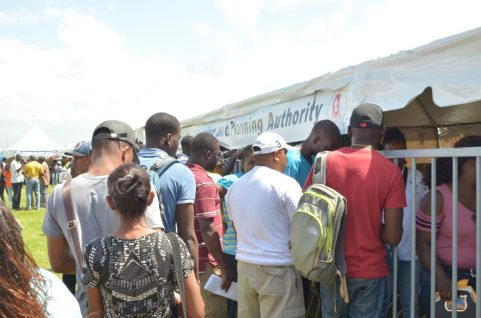 Scenes for the 6th 'Government comes to you' outreach held in Region 3, Essequibo Islands-West Demerara.
