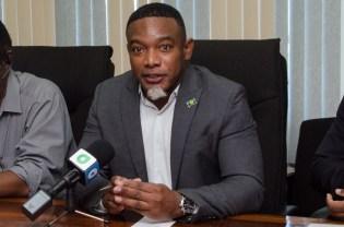 Representative of CARICOM, Dr. Devon Gardner.