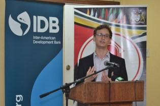 Lead Consultant of VIVID Economics, Charlie Dixon.