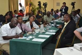 Members of the various agencies represented at today's Report Launch.