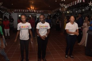 Various performances during the launch of the Say Yes campaign