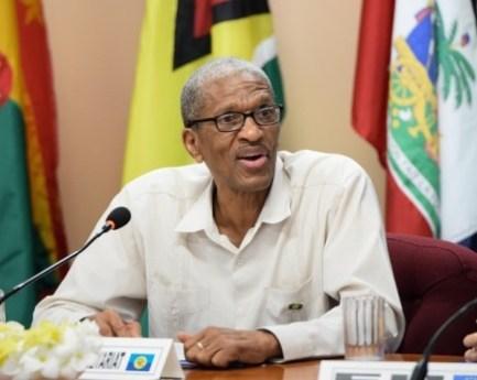 Dr. Douglas Slater, Assistant Secretary-General, Human and Social Development, CARICOM Secretariat.