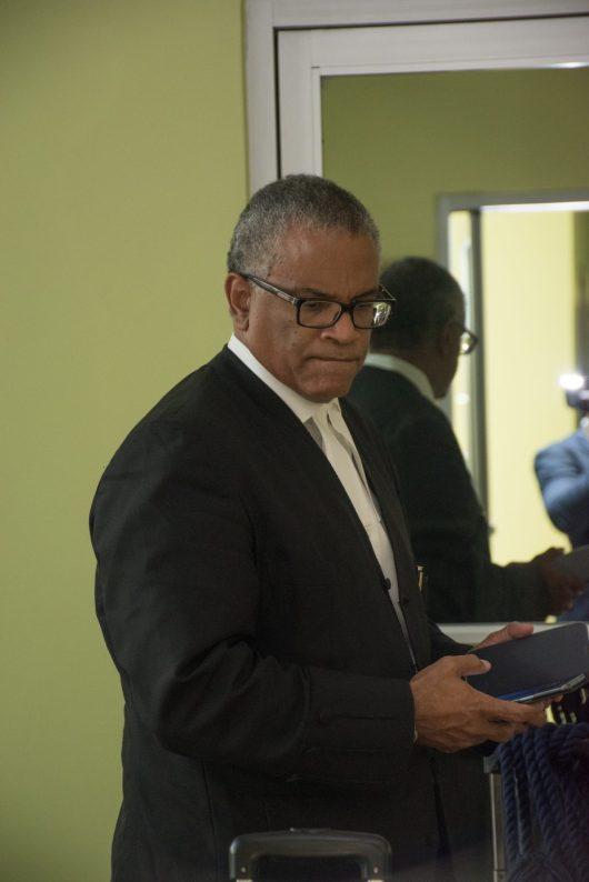Former Attorney General Eamon Courtenay SC