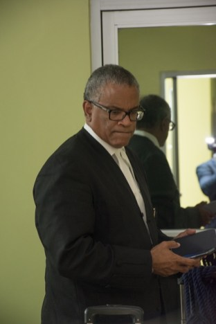 Attorney-at-Law Eamon Courtenay SC., who is presenting oral arguments on behalf of the Government of Guyana at the CCJ.