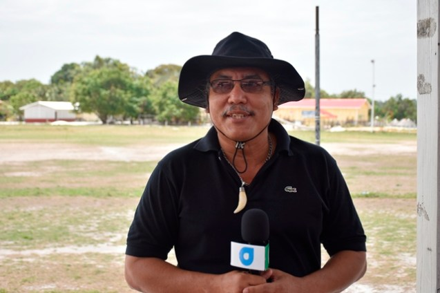 Member of Parliament (MP), Mervin Williams addresses Indigenous communities in Region 2.