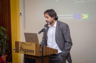 EU's Programme Officer/Attaché Federico Suárez.