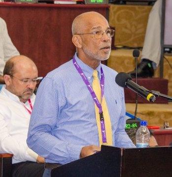 Public-Private Partnership Coordinator within the Caribbean Development Bank (CDB), S. Brian Samuel.