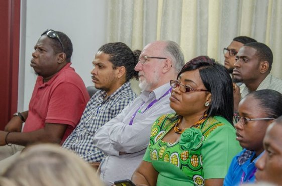 Section of participants at the IRF Congress at Arthur Chung Conference Centre (ACCC).