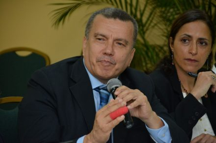 United Nation's Environment Director, Latin America and the Caribbean, Mr. Leo Heileman