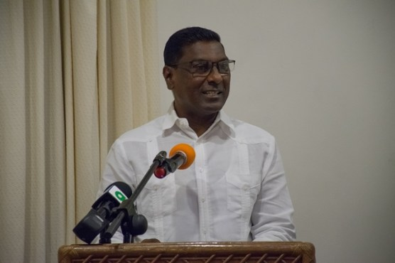 Chief Medical Officer, Ministry of Public Health, Dr. Shamdeo Persaud