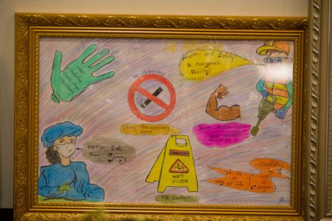 Winning posters from the recent Occupational Safety and Health Poster Competition.