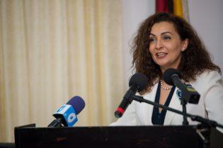 ITU Senior Programme Officer, Roxana Widmer Ilierscu during her presentation.