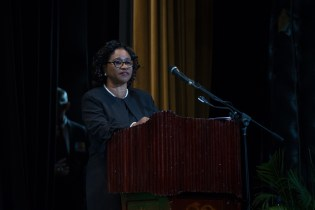 Chancellor of the Judiciary (ag), Justice Yonette Cummings-Edwards.