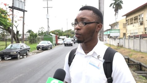 Jamie Norvell, Student, Guyana Technical Institute (GTI)