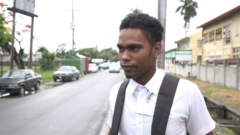 Elijah Henry, Student, Guyana Technical Institute (GTI)