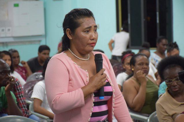 Leola Gonsalves, Bartica resident