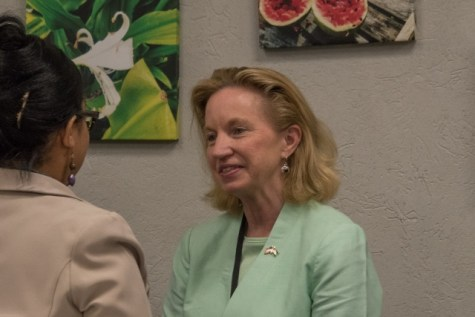 United States Ambassador to Guyana, Sarah-Ann Lynch.