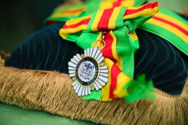 Guyana's highest national award, The Order of Excellence.