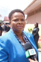 Minister of Health, Volda Lawrence