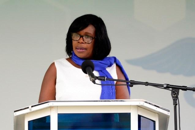 Permanent Secretary to the Public Health Ministry, Collette Adams.