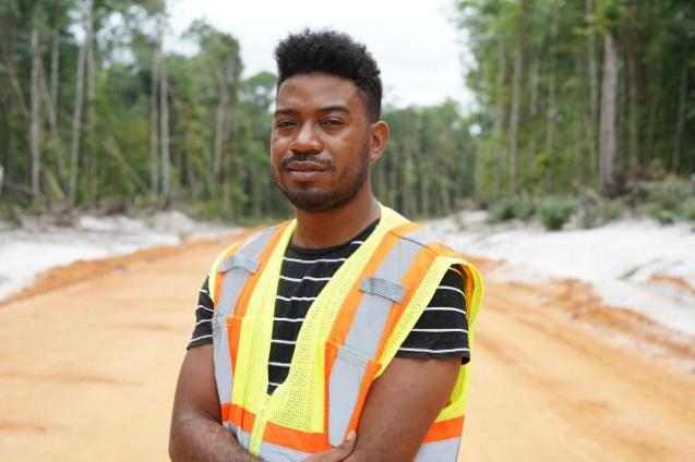 Hinterland Engineer within the Ministry of Public Infrastructure, Jeffrey Walcott.