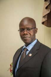 Outgoing UNAIDS Director, Guyana and Suriname, Dr. Martin Odiit