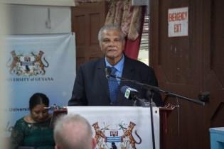Pro-Chancellor of UG Major General (ret'd), Joseph Singh