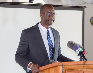 Commissioner of the Guyana Lands and Surveys Commission (GL&SC), Trevor Benn