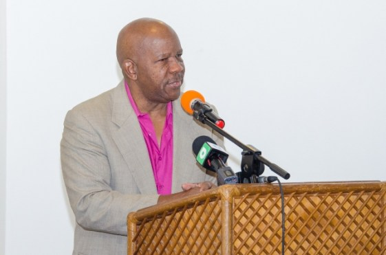 Director-General of the Department of Tourism, Donald Sinclair.