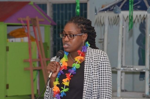 Minister of Public Service, Hon. Tabitha Sarabo-Halley.