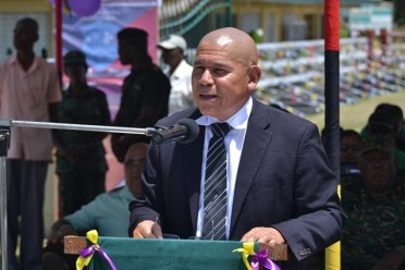 Minister of Social Cohesion, Hon. Dr. George Norton.