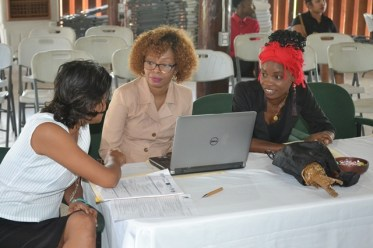 Scenes from the Creatives Go Global workshop.