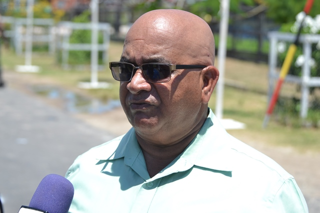 Regional Executive Officer (REO), Denis Jaikaran.