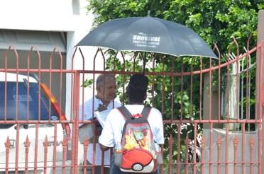 Eccles resident getting registered