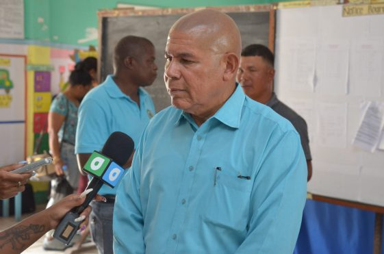 Minister of Social Cohesion, Hon. Dr. George Norton