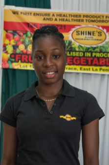 Chief Executive Officer of Shine's Agri Manufacturing, Kelshine Griffith