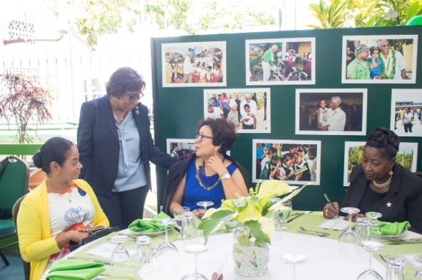 Scenes from His Excellency, President David Granger's 74th birth anniversary celebrations.