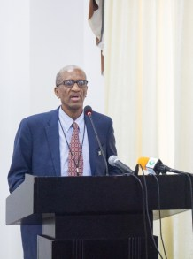 CARICOM's Assistant Secretary-General, Human and Social Development, Dr. Douglas Slater.